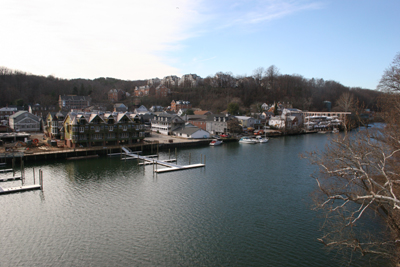 Town of Occoquan as seen from across the Occoquan Rivr