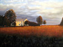 """Autumn Shadows"" by Steve Myles – Giclee Reproduction on Canvas"