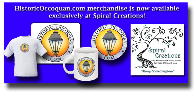 Historic Occoquan products can be found at Spriral Creations
