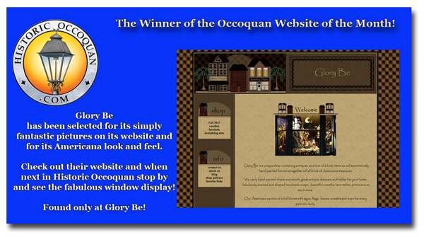 Historic Occoquan Website of the Month