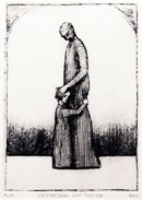"""Gesture Series #20"" by Roger Frey – Etching"