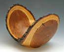 """Natural Edge Cherry Bowl"" by Greg Wandless – Turned Wood"