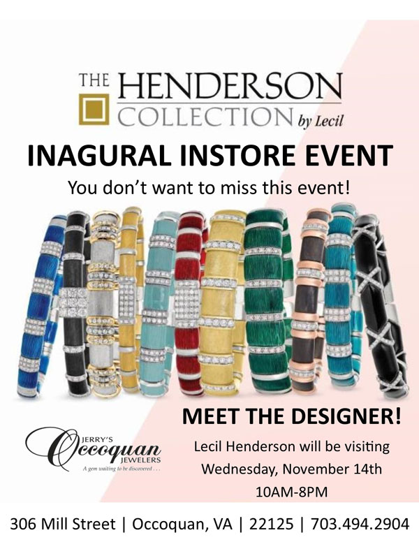 Henderson Event at Jerry's Occoquan Jewelers